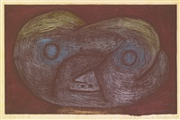 geschöpf aus der moor gegend d (creature of the moorland d) by paul klee