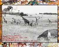 kaputi plains/ athi river at philip percival's potha estate, for the end of the game by peter beard