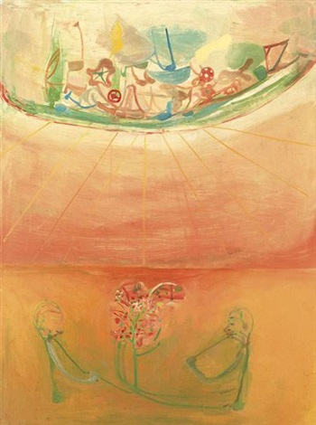 pink spring by amy sillman