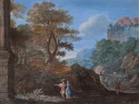 roman landscape by pierre patel