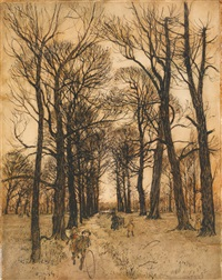 one of the paths...that have made themselves by arthur rackham