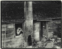 nude in window by wynn bullock