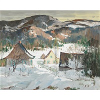 village in the laurentians by jack young