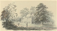 a mosque near calcutta by hubert cornish