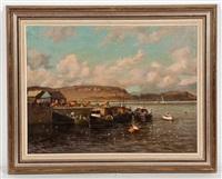 oban harbour by richard forsyth