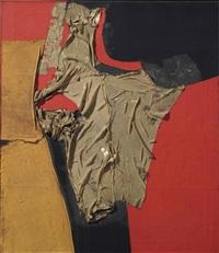 rosso e nero by alberto burri