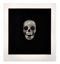 skull/victory over death by damien hirst