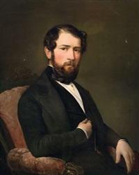 portrait des herrn joseph obrist by theodor petter