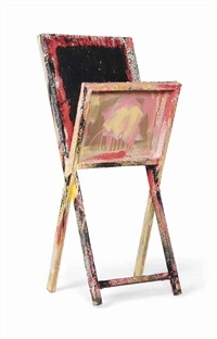 untitled (chair) by phyllida barlow