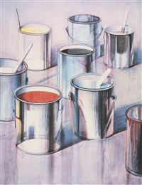 paint cans by wayne thiebaud