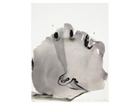 the fog of war (set of 4) by marlene dumas