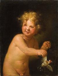 ein kind mit einem vogel an einer schnur by anonymous-italian (18)