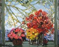 les trois bouquets by michael henry