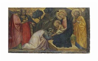 the adoration of the magi by spinello aretino