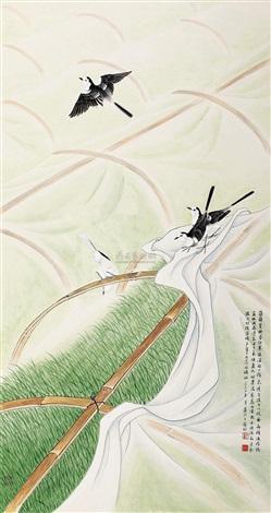 育秧图 by liang ji