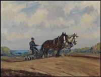 ploughing by manly edward macdonald