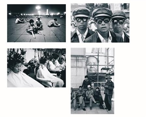students in tiananmen square 3 others 4 works by liu heung shing