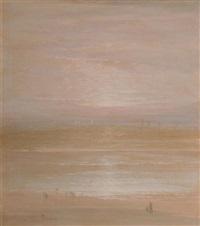 sea shore by leon dabo