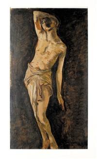 św. sebastian by léopold gottlieb