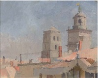 st. trophime, arles ii by william coldstream