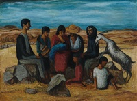 a group of spaniards by kees andrea