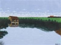 sur le rivière aisne by camille bombois
