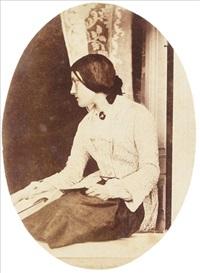 portrait of thereza llewelyn by john dillwyn llewelyn