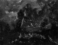 naval engagements between turks and christians by caspar van eyck