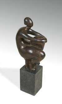 seated figure by ana duncan