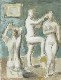 trois femmes by wilhelm gimmi