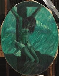crocifissione by mario tozzi