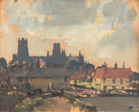 ely from the river by edward seago