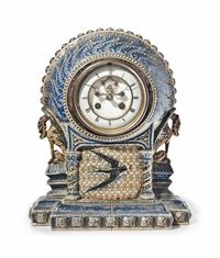 mantle clock by martin brothers