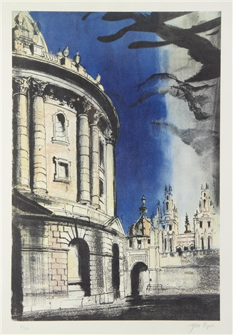 radcliffe camera by john piper