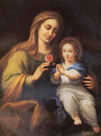 la virgen y santa ana by josé beratón
