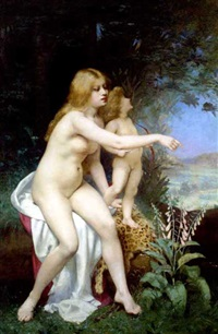 venus and cupid by victor tortez