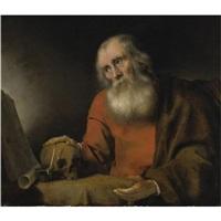 st. jerome by abraham van dyck