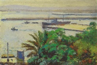 le port d'alger by armand jacques assus