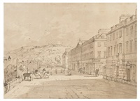 north parade, bath by john claude nattes