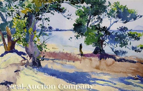 dog river alabama by frank weston benson