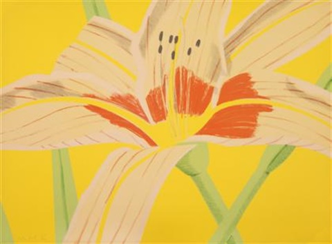 lily ii by alex katz