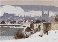 rainy day, baie st. paul by robert wakeham pilot