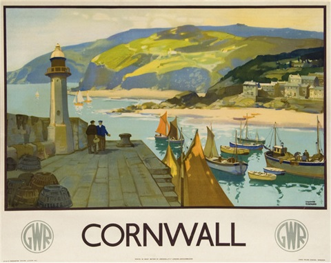 cornwall gwr by leonard richmond