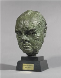 sir winston churchill by sir jacob epstein