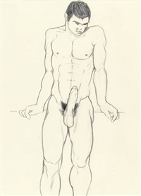 male nude by tom of finland