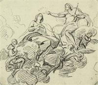 incoronazione della vergine assunta in cielo by jean baptiste joseph wicar