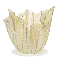 handkerchief vase by fulvio bianconi