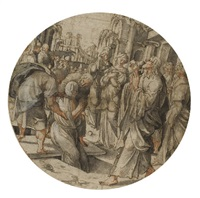 the raising of lazarus by jan swart van groningen