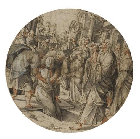 the raising of lazarus by jan swart van groningen