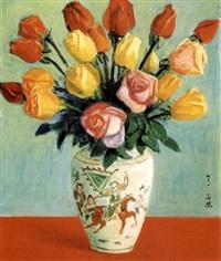 roses by li shiqiao
